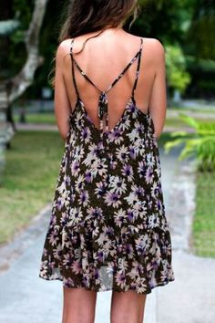 open back fashions