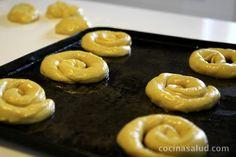 Ensaimadas leudadas Pan Dulce, Reyes, Margarita, Cookie Recipes, Cookies, Corn Starch, Cake Recipes, Cook, Breakfast