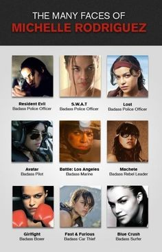 Michelle Rodriguez - funny pictures - funny photos - funny images - funny pics - funny quotes - #lol #humor #funny
