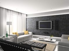 Modern Living Rooms And Technology For It Modern Living Rooms