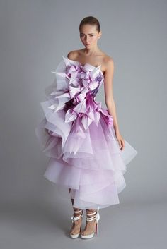 Purple @Marchesa