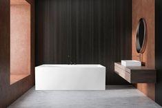 Mime badekar i helstøpt kvalitetsakryl. Plass til karkantarmatur. Bathtub, Bathroom, Standing Bath, Washroom, Bathtubs, Bath Tube, Full Bath, Bath, Bathrooms