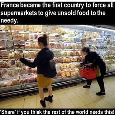 Yes! This also made me smile :) Nobody should starve.  Now they just need to start looking after the 10,000 refugees who are trapped in the camp in Calais on the chemical dumping ground by the chemical plant. 70% of them are African, fleeing wars created by European governments. #chakabars please share :)