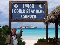 Love Half Moon Cay!