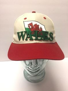 Wales Red Dragon Snapback Hat Baseball Cap by Image OSFA  Wales ffc507e7a737
