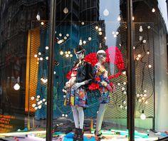 Harvey Nichols   Punk Inspired Windows