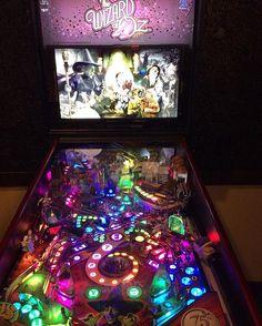 Instagram media by pinball_cory - The Wizard of Oz 75th Anniversary Ed. Ruby Red...Jersey Jack 2014 Joe Balcer  #wizardofoz #wizard #oz #movie #film #celebrity #ruby #red #slippers #dorothy #toto #scarecrow #tinman #lion #witch #monkey #magic #fun #pretty #beautiful #game #2014 #jersey #jack #pinball