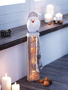 """LED-Säule """"Santa Claus"""""""