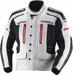 36-38 Jet Motorcycle Motorbike Jacket Mens Waterproof Armoured High Performance DAYTONA S , Red