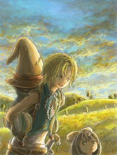Zidane, Vivi and Eiko from Final Fantasy Artwork, Final Fantasy Ix, Best Games, Cute Art, Funny Jokes, Instagram, Pictures, Fandoms, Places