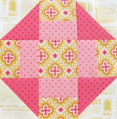 Farmer's Wife Quilt-a-Long Block #20 - Churn Dash by Ellie@CraftSewCreate, via Flickr