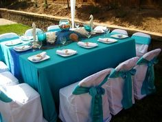 sea themed centerpieces | The live goldfish centerpiece was such a hit! It also doubled as a ...