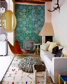 A space like this can only be created by fearlessly mixing what you love and letting your personality shine through. Visit us in store or online at www.romulusandthegypsy.com.au  Link in bio.  Image via sfgirlbybay.com.