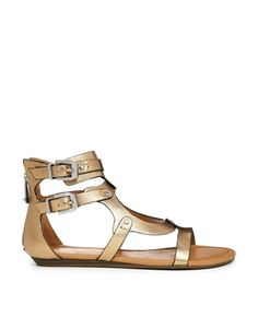 Report Signature Lastro Gladiator Flat Sandals