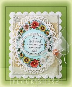 spellbinders dies make such a difference in 'making' a card wonderful