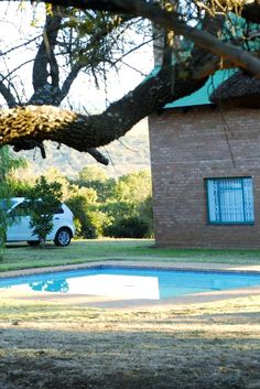 This is one of those magical places ideally situated for a weekend break from either Pretoria or Johannesburg. Large Bathtubs, Wood For Sale, Weekend Breaks, Game Reserve, Take A Shower, Olive Tree, Nature Reserve, South Africa, Swimming Pools