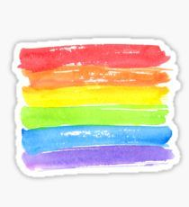 LGBT parade flag, gay pride symbol Sticker