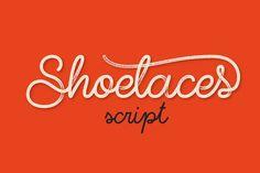Shoelaces font By Gleb & Natasha Guralnyk