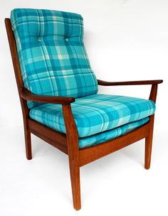 Retro furniture revived in vintage wool blankets, Furniture, Furniture Design Modern, Mid Century Modern Furniture, Modern Style Furniture, Vintage Wool Blanket, Upcycled Furniture, Furniture Nz, Retro Furniture, Retro Home