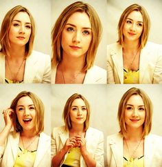 SAOIRSE RONAN she would have been the perfect Tris. damn Shailene Woodley.