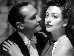 """Fredric March and Joan Crawford in """"Susan and God"""" (1940)"""