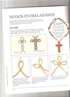 MANITAS CREATIVAS Y ALGO MAS: Macrame --Perlas -Bisuteria con nudos chinos