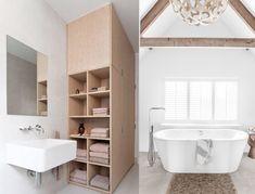 #white #wood #blanc #bois #bathroom #salledebains