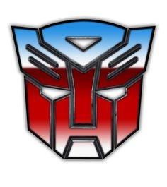 Transformers Autobot symbol. When Optimus Prime told the Autobots to roll out, you knew it was going down. Yes, I bought the toys.