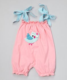 Another great find on #zulily! Strawberry Owl Bubble Romper - Infant by Victoria Kids #zulilyfinds