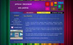 Proyecto para Pintura i Decoració Edu Pedrós - Inicio #diseñoweb #paginasweb #DiseñadorWebValencia #DiseñadorWeb