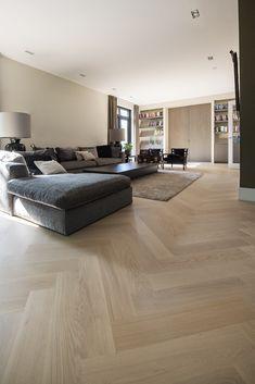 Living Room Wood Floor, Open Plan Kitchen Living Room, Living Room Flooring, Home Living Room, Living Room Designs, Living Room Decor, Küchen Design, House Design, Interior Design