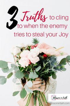 Are your circumstances stealing your Joy? Encouragement to fight for joy. Holding on to Jesus. Christian Women, Christian Living, Christian Faith, Christian Quotes, Christian Resources, Sisters In Christ, Spiritual Growth, Spiritual Practices, Grow Together