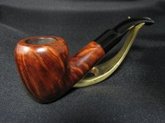 INVICTA England Danish shape pipe - wonderful flame grain! by VKpipes on Etsy