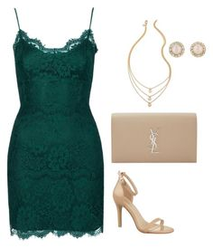 """""""Untitled #554"""" by maritzawaffles on Polyvore featuring Topshop, Yves Saint Laurent and Kate Spade"""