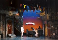 The Comedy of Errors  at Shakespeare Theatre of New Jersey; Sets by Wilson Chin