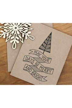 Banner Christmas card