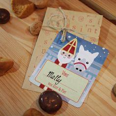 Sinterklaaslabels, download ze gratis! ©Papiergoed