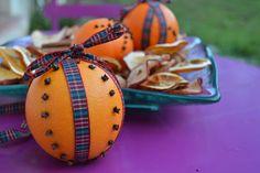 Ambientadores naturales con naranja y clavo. | Elenarte