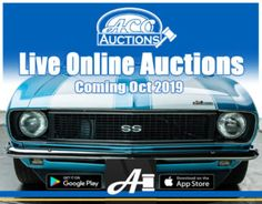 We are very excited to announce ACC Auctions! Coming this October, we will bring the finest collection of classic, muscle and performance cars to auction. Classic Gmc, Classic Bronco, Classic Corvette, Classic Ford Trucks, Classic Mustang, Classic Chevrolet, Classic Mercedes, Buick For Sale, Chevy For Sale
