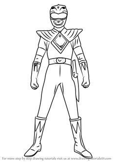 Free Printable Power Rangers Coloring Pages For Kids ...