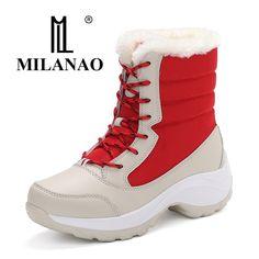 49% СКИДКА Женская зимняя повседневная обувь, бархатная теплая прогулочная  обувь, увеличивающая рост, непромокаемая модная женская обувь, большие  размеры 35 ... bcf9b2d49b4