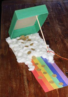 Cereal Box Leprechaun Trap Crafts by Amanda