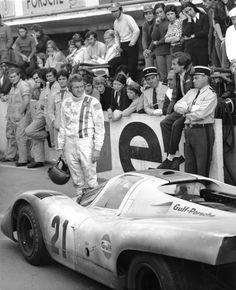 Steve McQueen   Le Mans   1971   as Michael Delaney