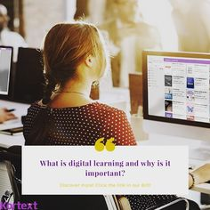 Do you want to know more about digital learning? 🤓 their a look at our blog post!📚#linkinbio  #digital #learning #elearning #reading #study #studygram #ereader #digitalart #student #university #changes #education #like #love #educate #😎 What Is Digital, Students, University, Study, Education, Learning, Blog, Instagram, Studio