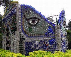 Minnie Evans Bottle Chapel, Airlie Gardens,  Wilmington,  North Carolina