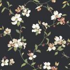 York Wallcoverings, 56 sq. ft. Dogwood Wallpaper, GE9550 at The Home Depot - Mobile