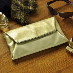 Gorgeous Clutch to get you through the Festive Season, stylishly!   L Ashley Precious Gold - Rs. 1,725/- Buy it Now: http://goo.gl/h4hjKl