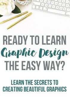 Design Inspiration // Get ready to learn graphic design the easy way! Learn the tips, techniques and secrets that you need to create amazing graphics!
