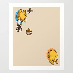 Disney Winnie the Pooh: Poohrtal Art Print by Macaluso ...How fun! Pooh and Portal!