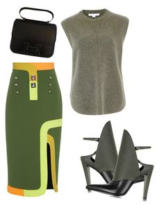 """Go for it!"" by bornewinner ❤ liked on Polyvore featuring Alexander Wang, Peter Pilotto and Hermès"